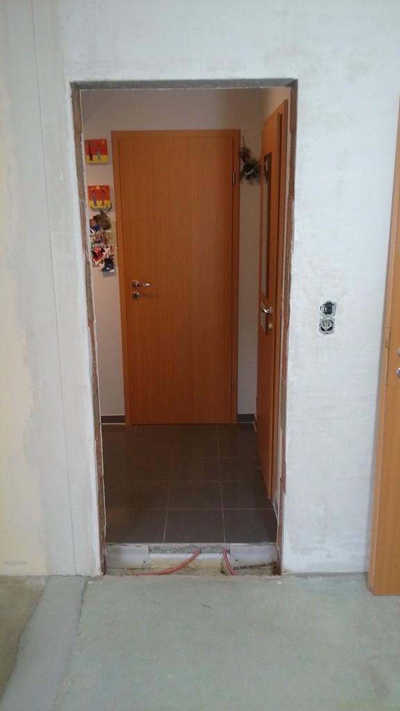 Diese Tür kommt zu.
