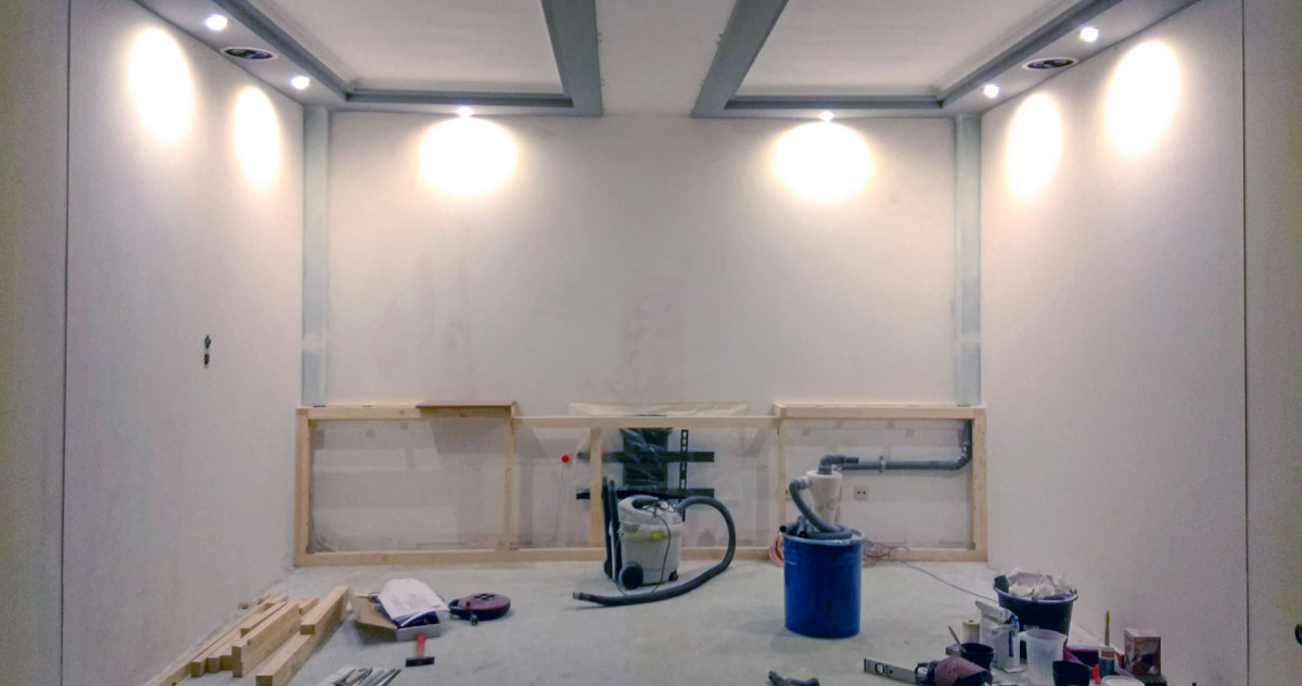 Heimkino Installation
