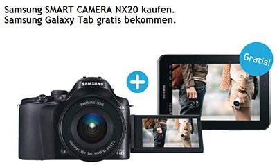 Samsung NX20 Aktion