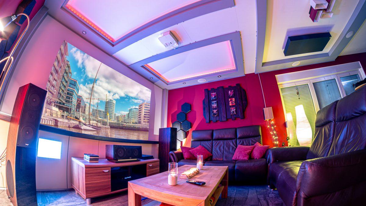 Wohnzimmer Heimkino 2019