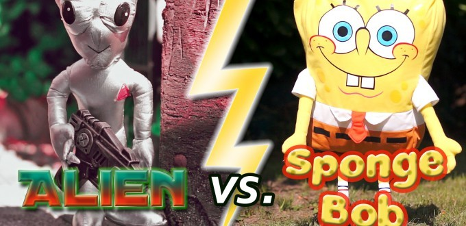 Alien vs. Spongebob