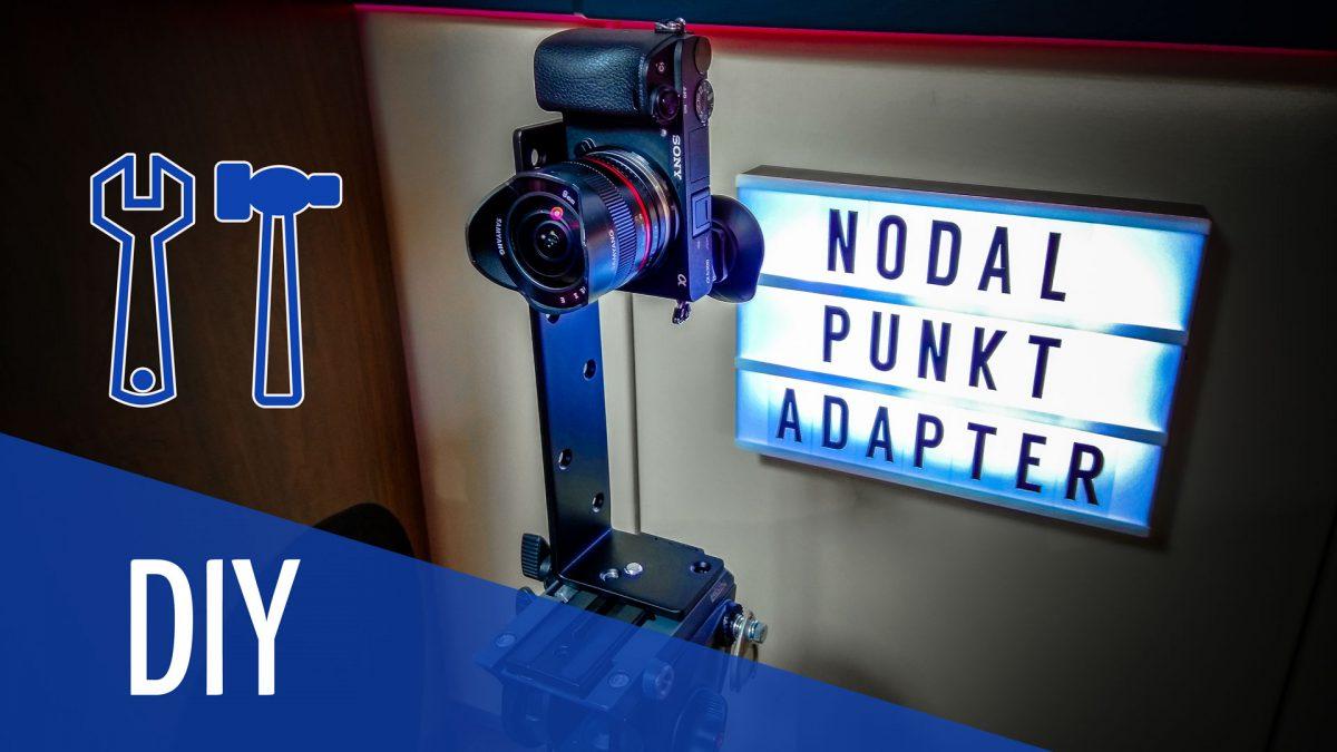 Nodalpunkt Adapter für Videoneiger selber bauen.